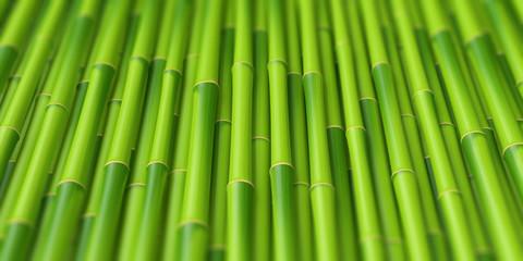 Printed roller blinds Zen Tiges de bambous 2