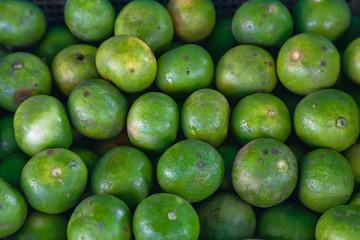 Fresh lime fruits