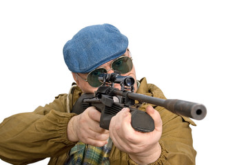 hunter, shooter sniper