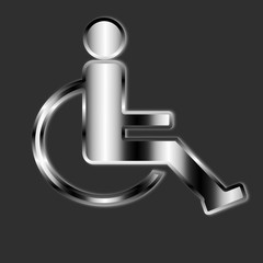 cartello disabili