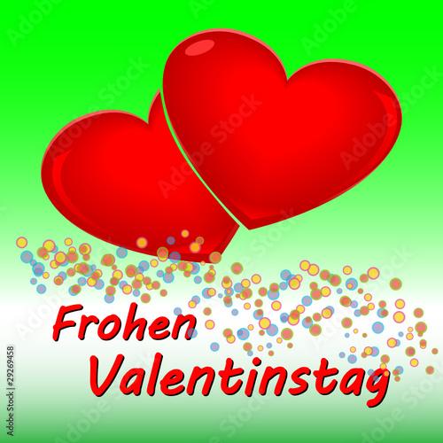 Frohen Valentinstag Hintergrund