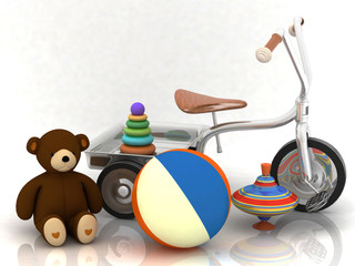 beautiful child's toys