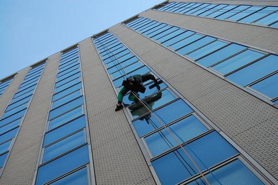 ビルの外窓清掃