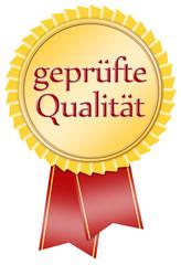 siegel button medallie geprüfte qualität
