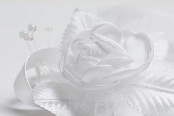 White satin rose