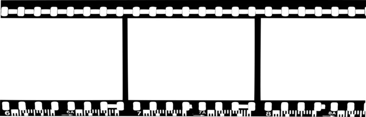 Blank film strip - vector