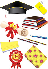 Graduation cap & stationery