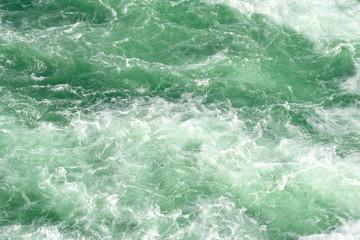 Schäumendes Wasser