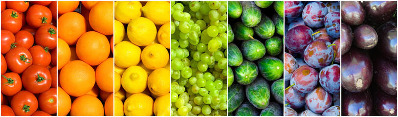 Canvas Prints Fruits fruit rainbow