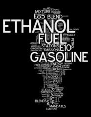 """Word Cloud """"Ethanol"""""""
