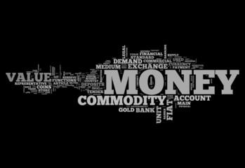 """Word Cloud """"Money"""""""