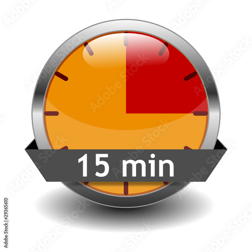 iconset timer 15min stock image and royalty free vector files on