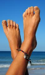piedi in vacanza
