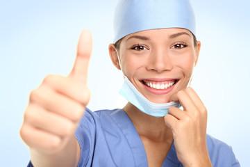 Successful young doctor / nurse