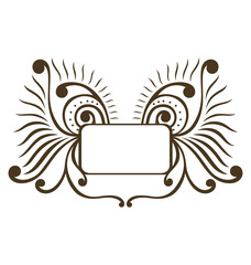 Decorative Swirl Frame B
