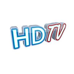 3d Schriftzug HD TV