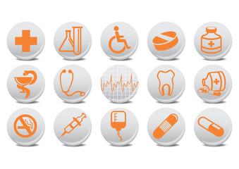 medecine buttons
