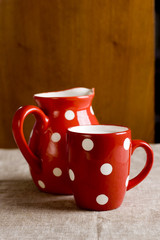 cup and jug