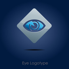 Logo eye, vision # Vector