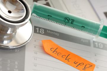 Termin Arzt Vorsorge Checkup
