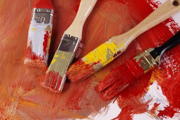 Dirty paintbrush!