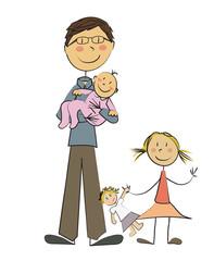 Père célibataire