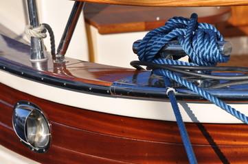 amarrage yacht de luxe