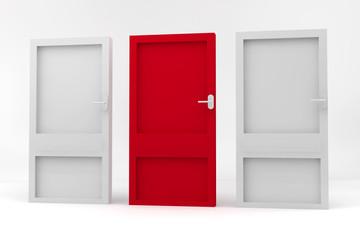 Three closed doors_2