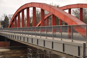Jordan bridge in Poznan, Poland