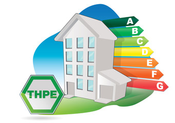 immeuble à tres haute performance energetique - THPE