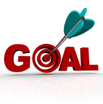 Goal Word - Arrow in Target