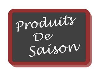PANNEAU PRODUITS DE SAISON