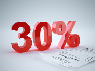 3d Rendering 30 Prozent
