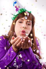 konfetti party fun women