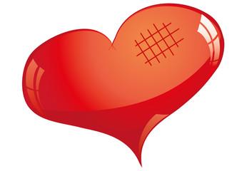 Line Art Love Heart : Rose gold geometric heart line art printable wall