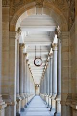 Fototapeta Classical colonnade in Karlovy Vary, Czech Republic obraz