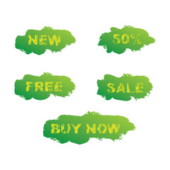 Grunge sale labels
