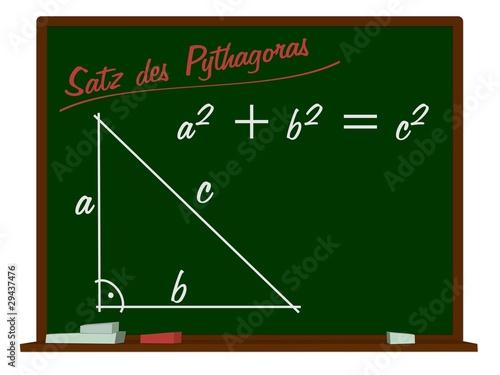 satz des pythagoras stockfotos und lizenzfreie bilder auf bild 29437476. Black Bedroom Furniture Sets. Home Design Ideas