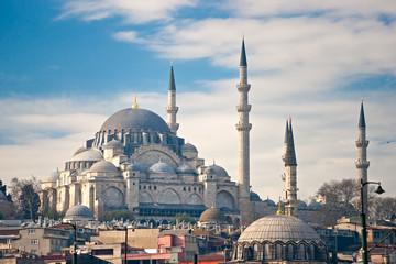 Süleymaniye Mosque , Istanbul, Turkey.