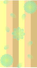 Muster mit Blumen und Streifen für Tapete und Stoff