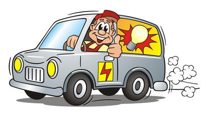Electrician Service Van