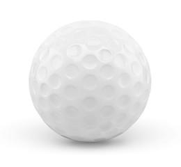 Balle de golf sur fond blanc 1