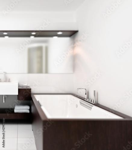 badewanne holz und keramik stockfotos und lizenzfreie bilder auf bild 29473081. Black Bedroom Furniture Sets. Home Design Ideas