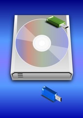USB Stick CD Hard Disk