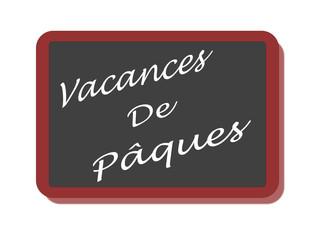 PANNEAU VACANCES DE PAQUES