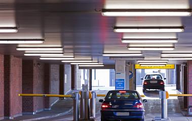 Eingang zum Parkdeck