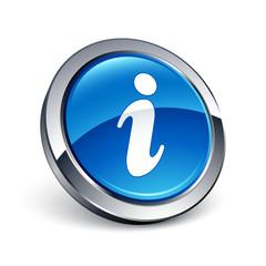 icône bouton internet information