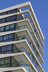 Detailansicht einer Wohnimmobilie