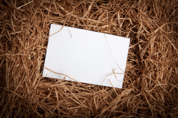White paper in a stable