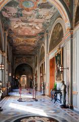 Interior of Knight's Palace
